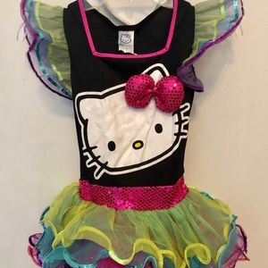 Girls Hello Kitty Halloween costume